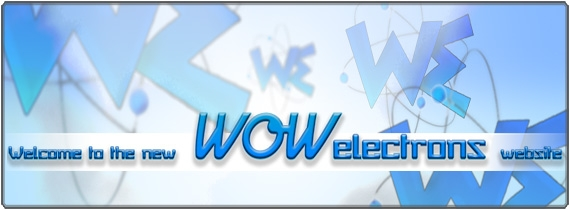 Welcome to the WowElectrons Webstore!